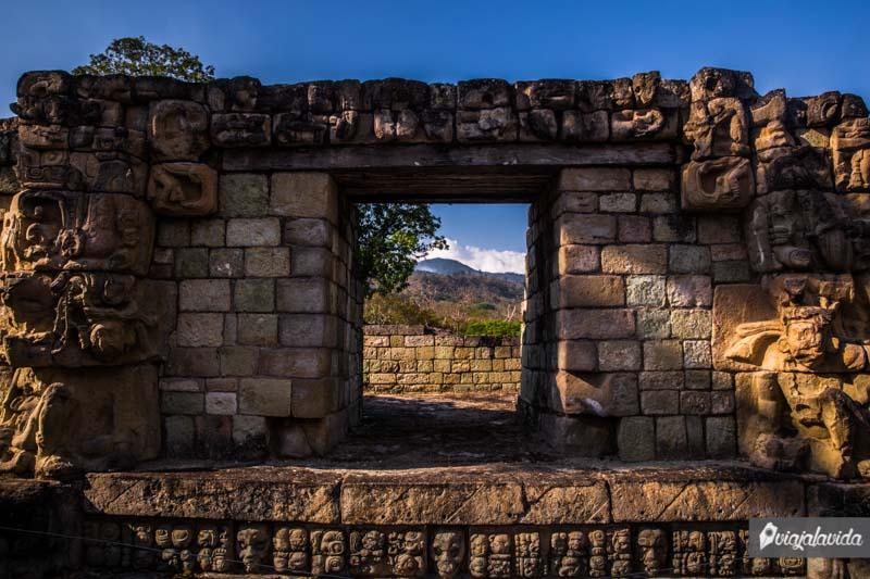 Edificios Mayas en Honduras.