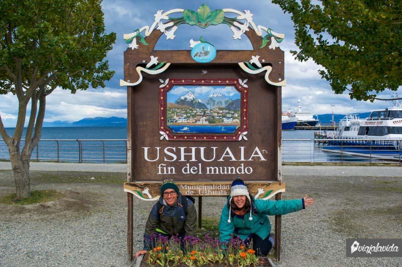 Ushuaia, en el fin del mundo.