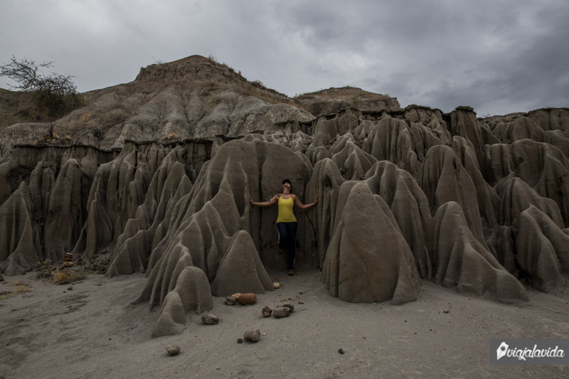 Parte gris del desierto, Colombia.
