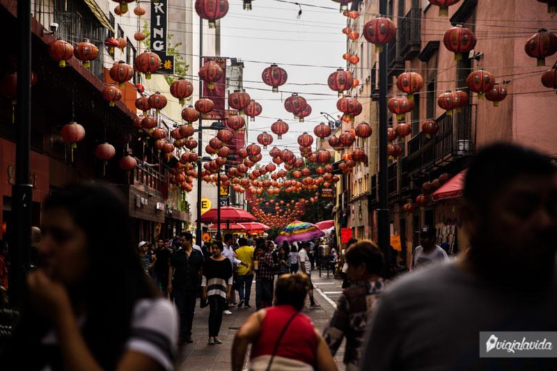 El barrio chino en Ciudad de México.