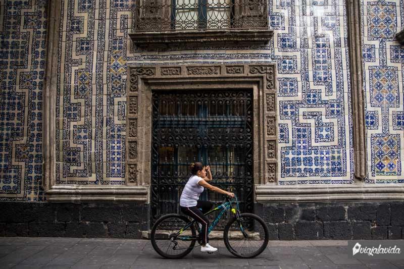 Callejones del centro de México.