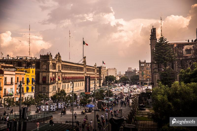 Palacio Nacional de México.