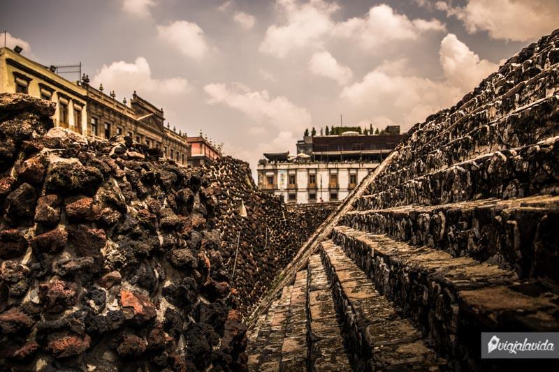 Templo Mayor en Ciudad de México.