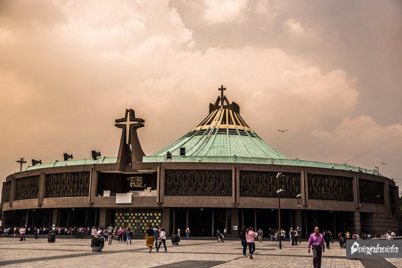 Exterior de la Basílica de Guadalupe.
