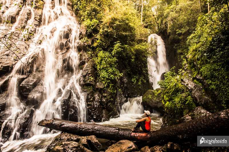 Cascada Velo de Novia, Valle de Bravo, México.