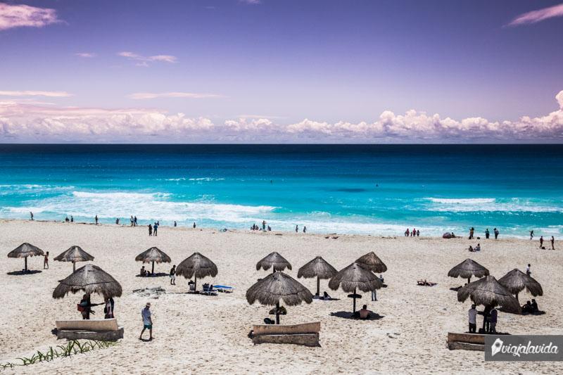 Playa Delfines, Cancún, Riviera Maya.
