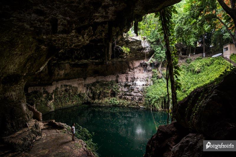 Cenotes en Yucatán.
