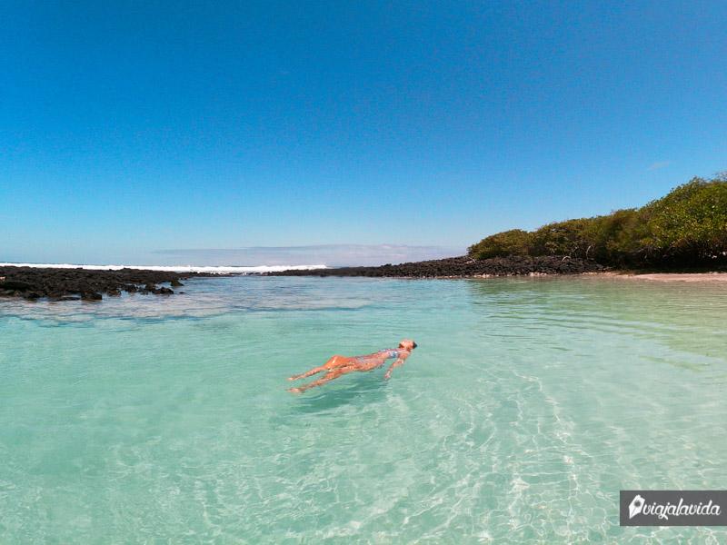 Un paraíso en Tortuga Bay, Galápagos