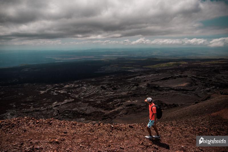 Tour al Volcán Sierra Negra, isla Isabela