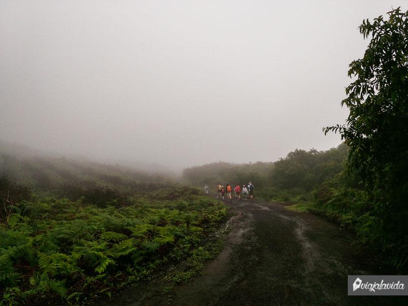 Ascenso al Volcán Sierra Negra, isla Isabela