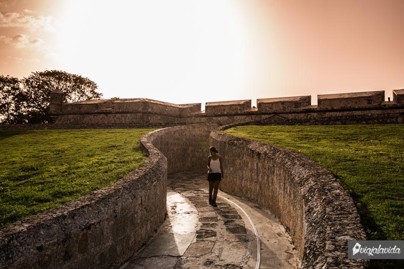 Entrada al Fuerte De San Miguel.