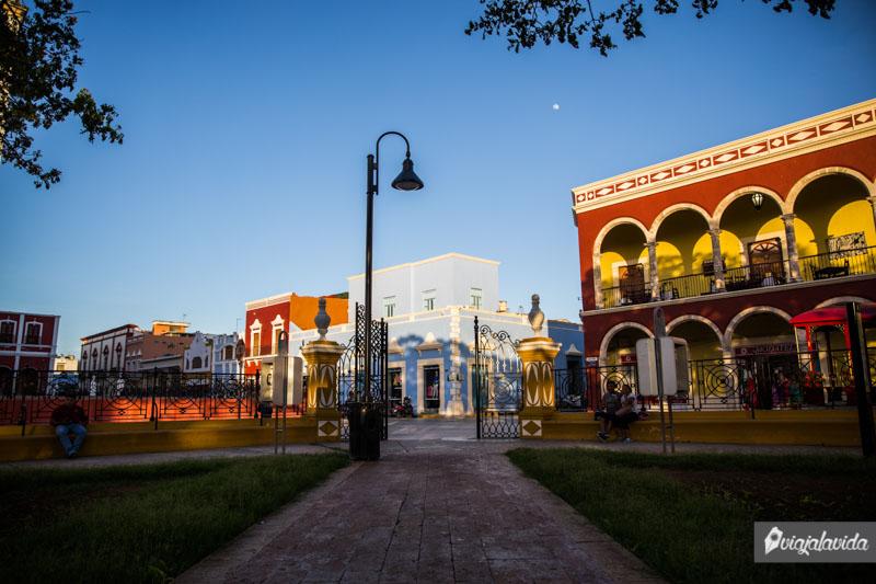 Parque Principal de Campeche.