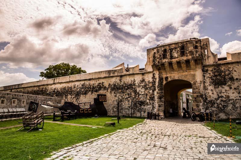 Puerta de Tierra, Centro Histórico de Campeche.