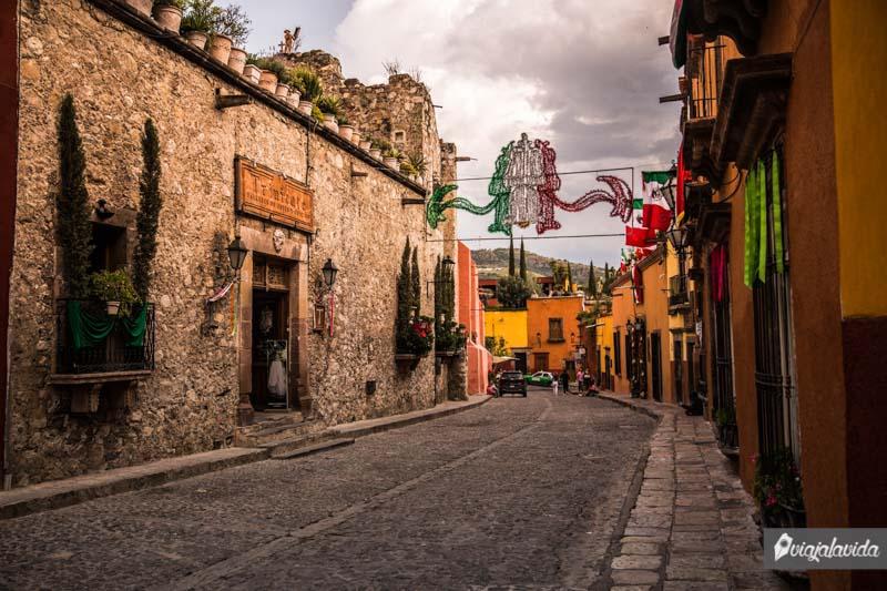Calles del centro de San Miguel de Allende