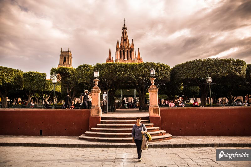 Jardín Allende, plaza principal de San Miguel de Allende
