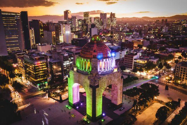 Ciudad de México, Monumento a la Revolución Méxicana.