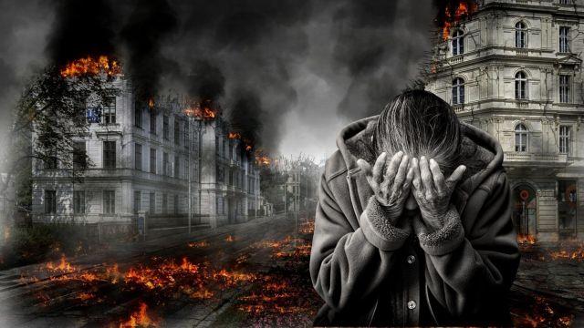 La destrucción de la humanidad.