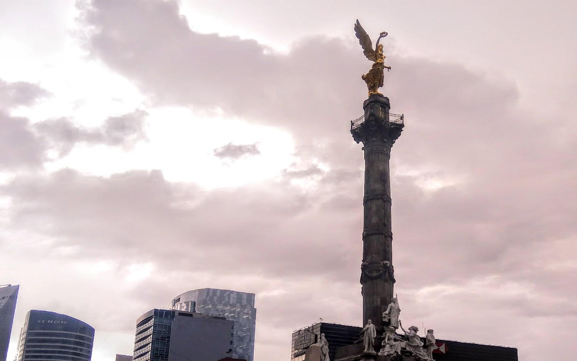 Ángel de la independencia, CDMX