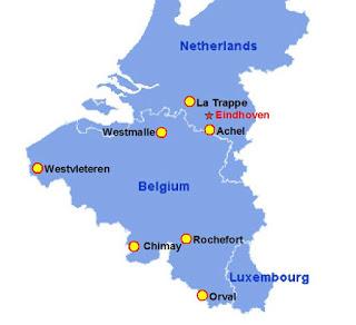 Mapa Trapistas