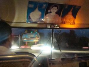 Chegada em Yangoon