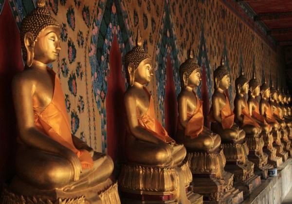 Uma das galerias do templo.