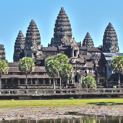 Angkor Wat e sua história apaixonante