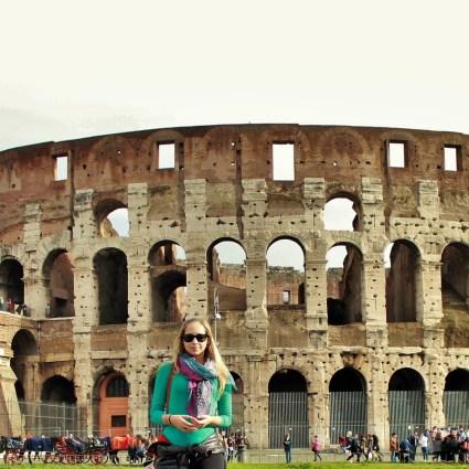 Um dia entre as gigantes colunas do Coliseu e Fórum Romano