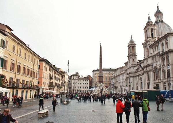 Outra perspectiva da piazza.
