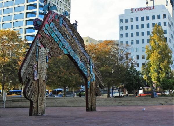 Praça Aotea, Auckland