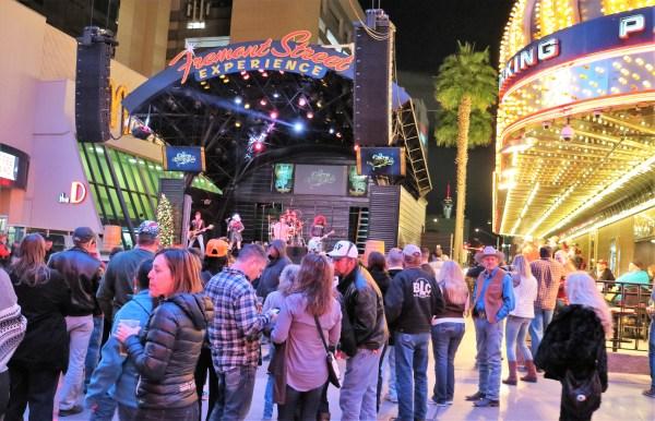 Fremont street, Las Vegas