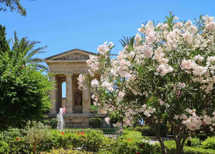 Lower Barrakka Garden, Malta