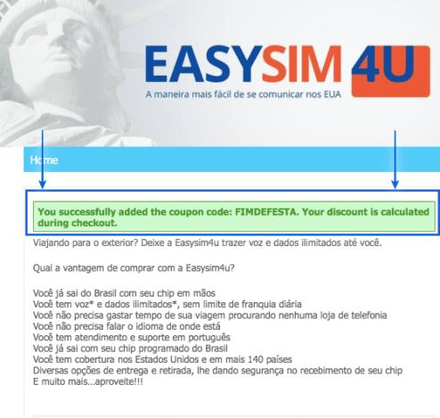 Chip Easysim4u com Desconto