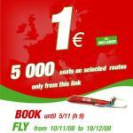 myair: 5000 tickets por apenas 1 Euro