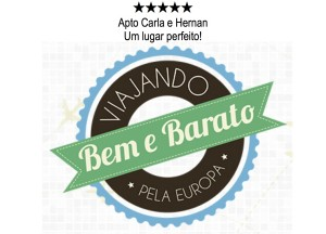Barcelona Selo Lugar Perfeito Apto Carla e Hernan Viajando Bem e Barato pela Europa