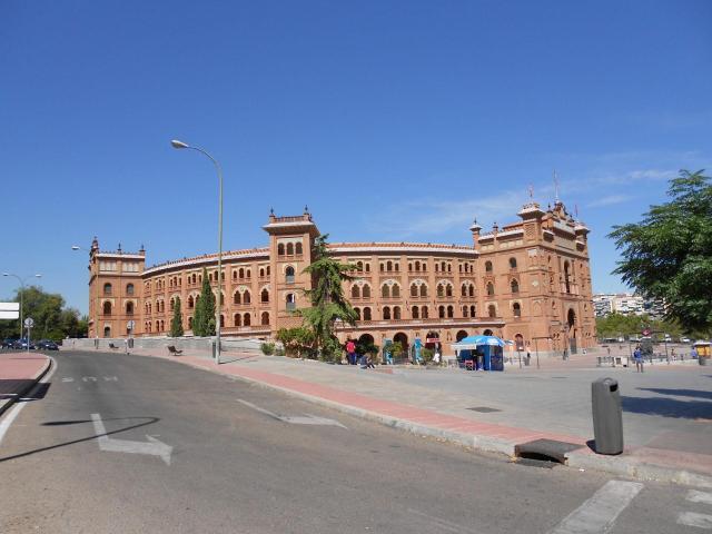 Madri - plaza de toros