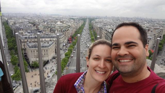Londres, Paris e Veneza_Selfie_redimensionada_Viajando bem e barato pela Europa