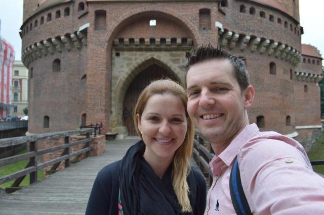 Polônia_Barbakan - Muralha defensiva da cidade velha_Viajando bem e barato pela Europa