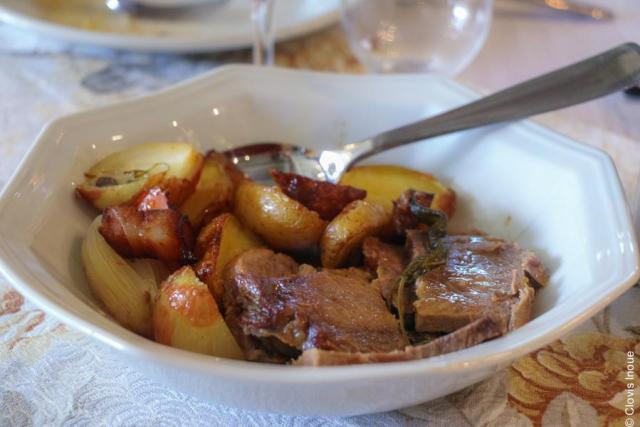 Osteria Della Colombina_carne de panela_Viajando bem e barato
