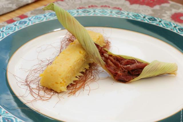 gastronomia da Serra Gaúcha_Bavaroise de milho verde e carne seca_Viajando bem e barato