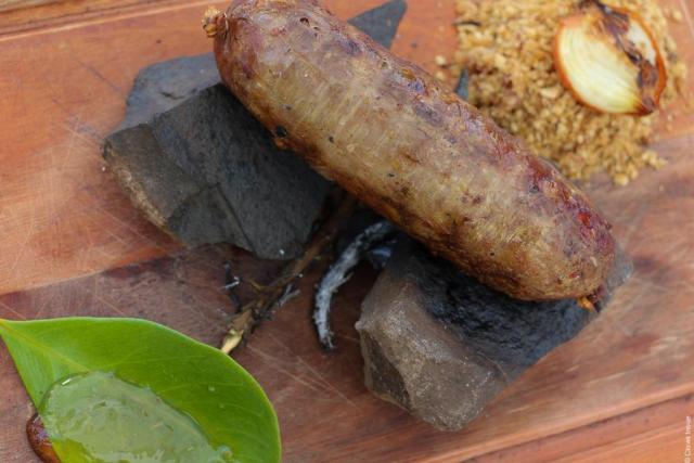 gastronomia na Serra Gaúcha_Linguiça artesanal_Viajando bem e barato