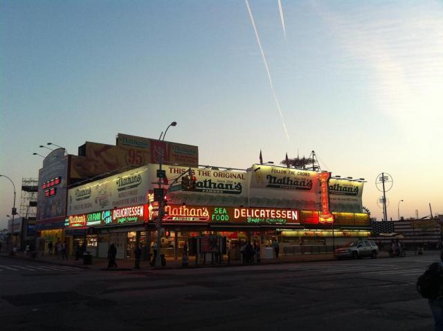 Dez dias em Nova Iorque_Nathans_Viajando bem e barato