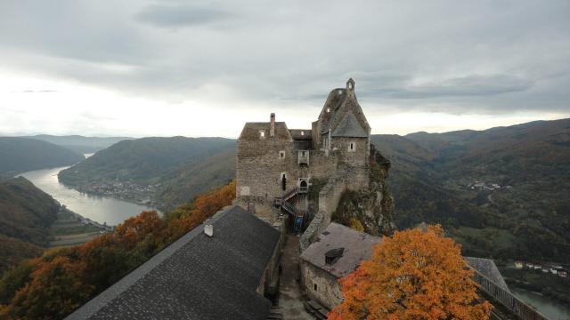Dica de turismo na Áustria_Burgruine_Aggstein_Wachau_Viajando bem e barato