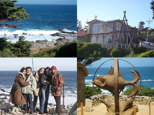 Roteiro de 4 dias de viagem para Santiago_Isla Negra_Viajando bem e barato