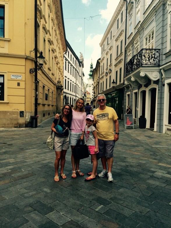 Guia turística que fala português na Bratislava