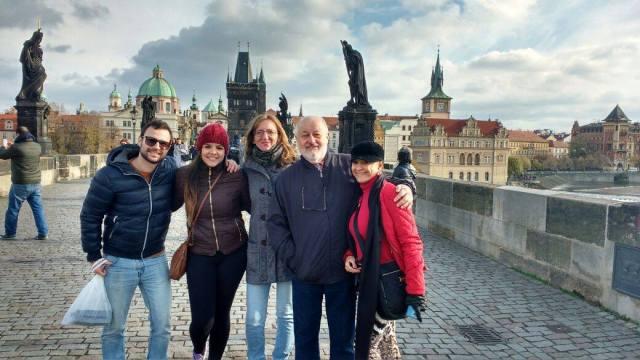 Guia que fala português em Praga