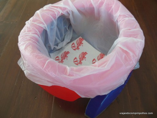 vaso sanitário portátil Potette Plus