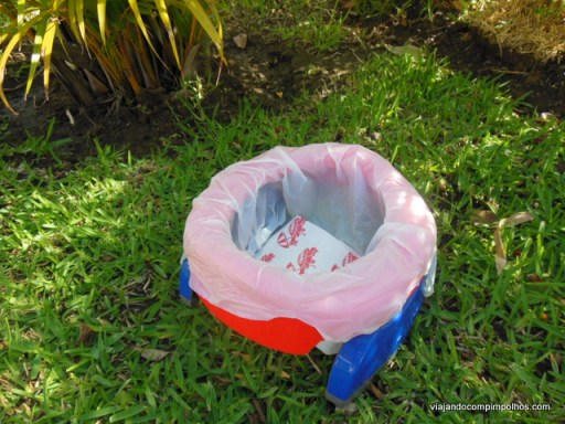 Vaso sanitário de viagem Potette Plus