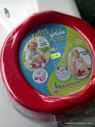 Potette Plus vaso sanitário de viagem