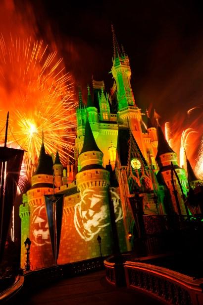 """Happy HalloWishes"" fireworks show at the Magic Kingdom"