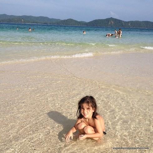 Tailândia com crianças